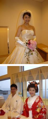 成枝様ご夫妻(2012年2月挙式 長崎市)