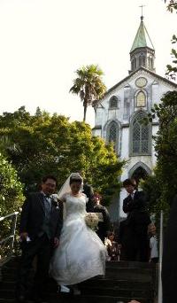 田中様ご夫妻 (2012年10月挙式 長崎市)